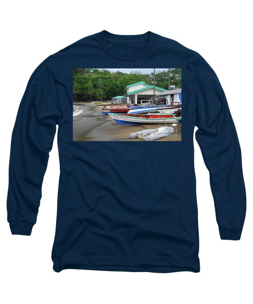 Long Sleeve T-Shirt featuring the photograph Coast Line by Gary Wonning