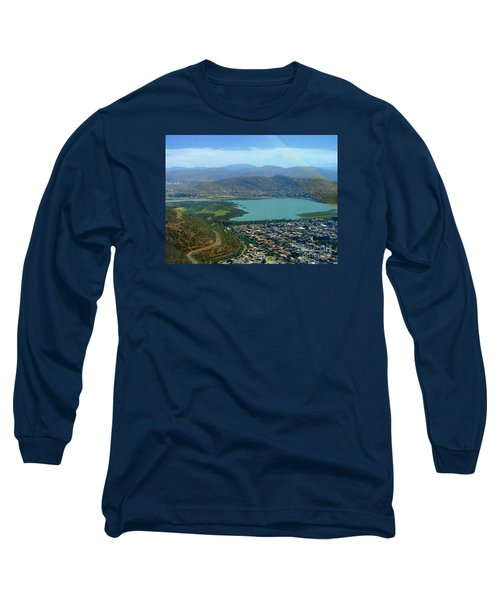 Long Sleeve T-Shirt featuring the photograph Cochabamba Lake by Lew Davis