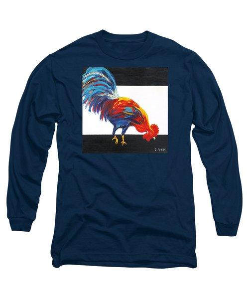 Cock-a-doodle-doo-too Long Sleeve T-Shirt