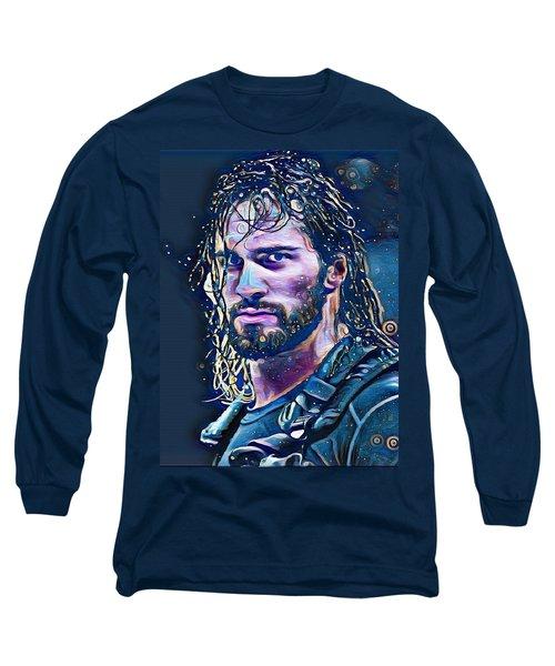 Colby Lopez Portrait Long Sleeve T-Shirt