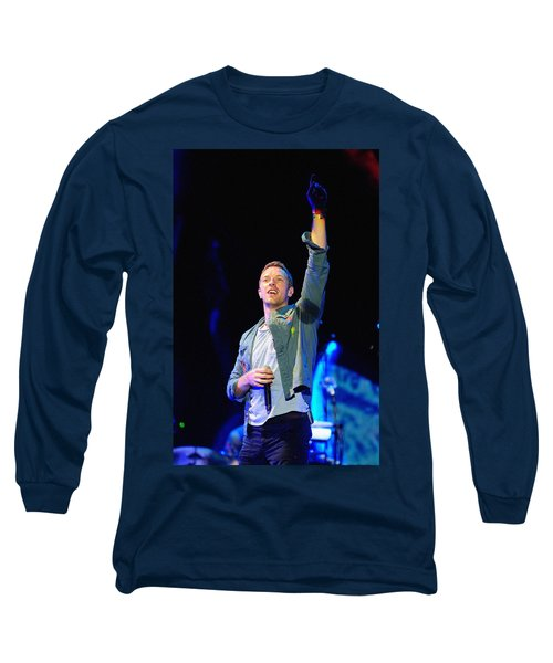 Coldplay8 Long Sleeve T-Shirt by Rafa Rivas