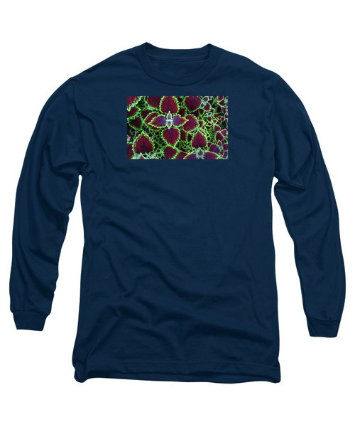 Coleus Leaves Long Sleeve T-Shirt