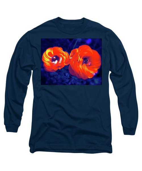 Color 12 Long Sleeve T-Shirt by Pamela Cooper