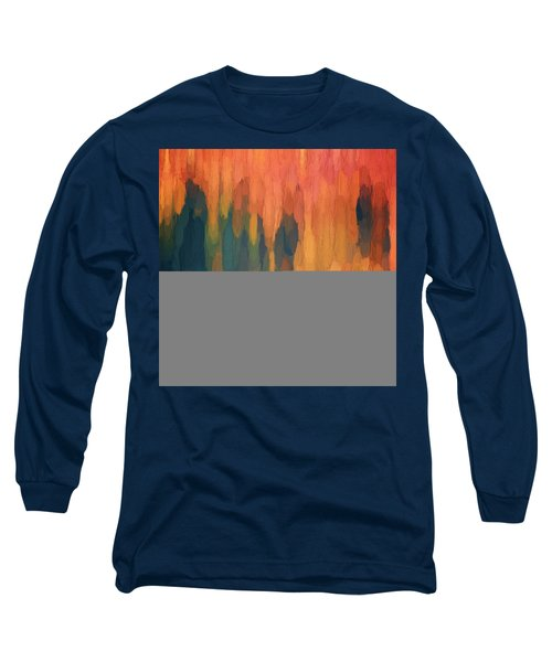 Color Abstraction L Sq Long Sleeve T-Shirt