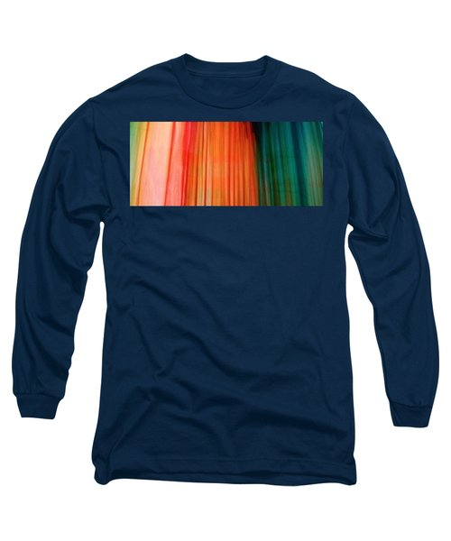 Color Bands Long Sleeve T-Shirt