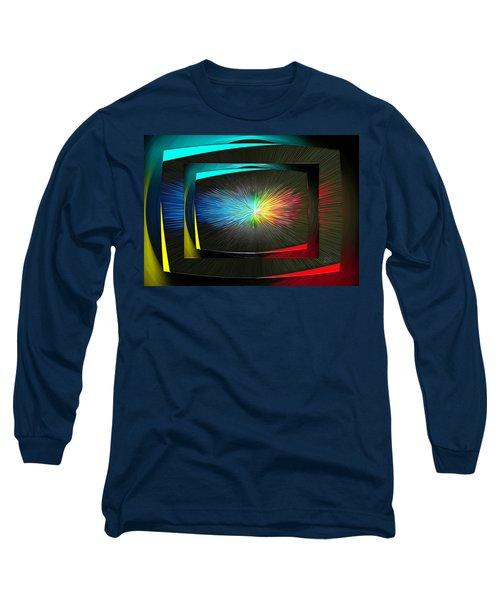 Color Tv Long Sleeve T-Shirt