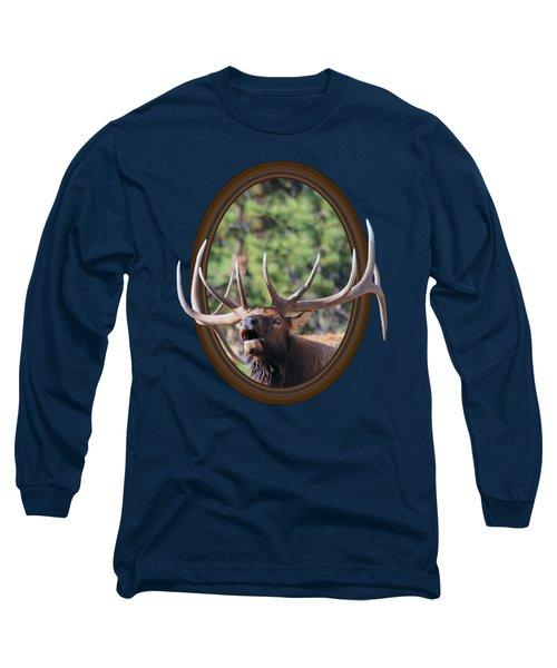 Colorado Bull Elk Long Sleeve T-Shirt