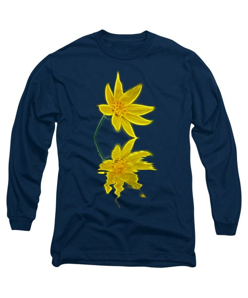 Colorado Wildflower Long Sleeve T-Shirt by Shane Bechler