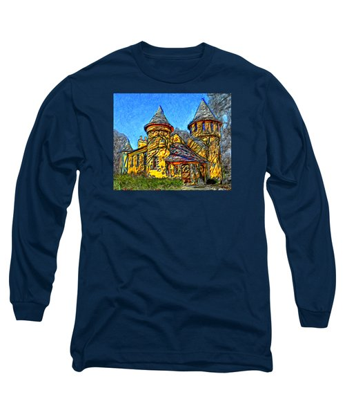 Colorful Curwood Castle Long Sleeve T-Shirt