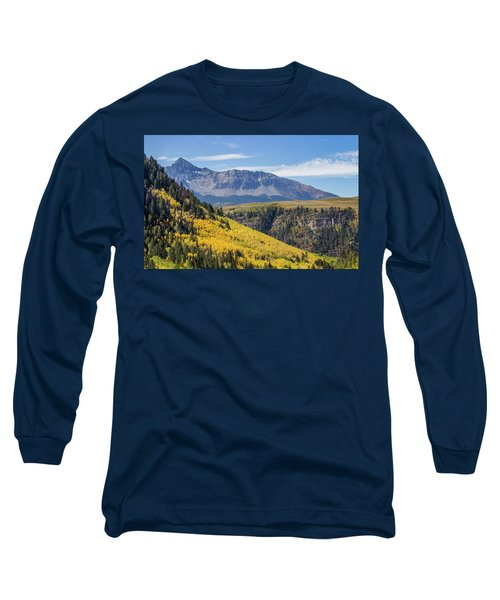 Colorful Mountains Near Telluride Long Sleeve T-Shirt