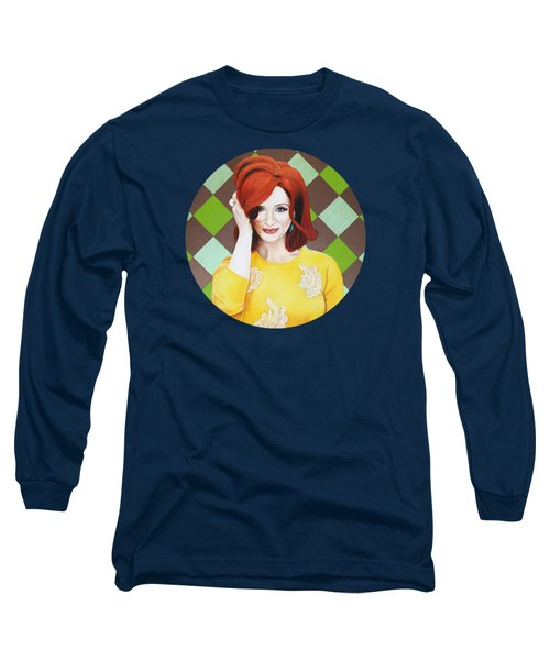 Long Sleeve T-Shirt featuring the painting Colour Inspired Beauty by Malinda Prudhomme