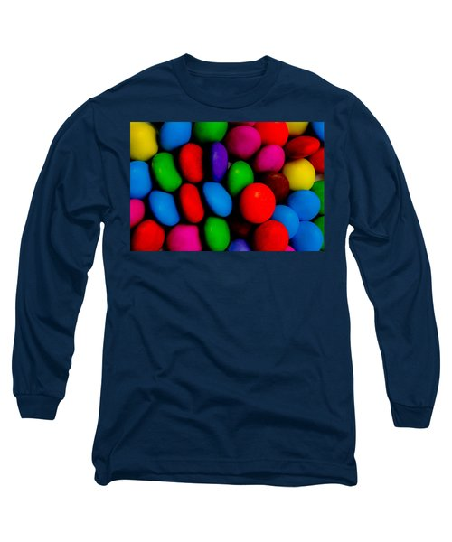 Colourful Abstract Long Sleeve T-Shirt