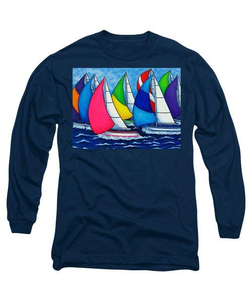 Colourful Regatta Long Sleeve T-Shirt