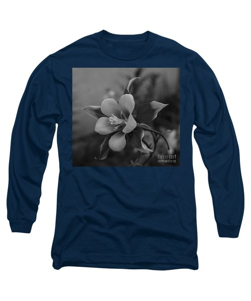 Columbine  Bw Long Sleeve T-Shirt