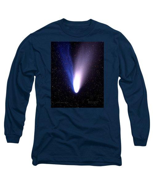 Comet Hale-bopp Long Sleeve T-Shirt by Mark Allen
