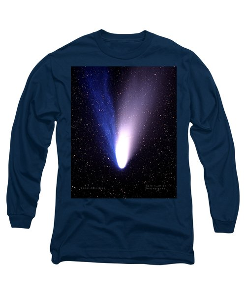 Comet Hale-bopp Long Sleeve T-Shirt