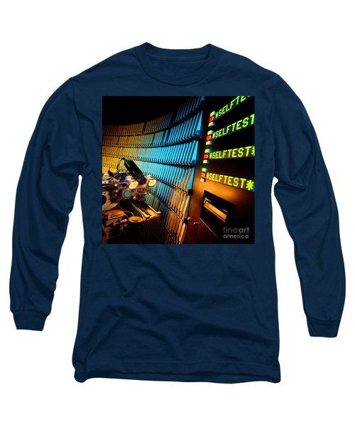 Computer Tape Storage Robot Long Sleeve T-Shirt