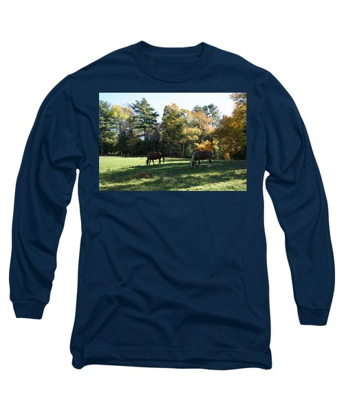 Contentment Long Sleeve T-Shirt