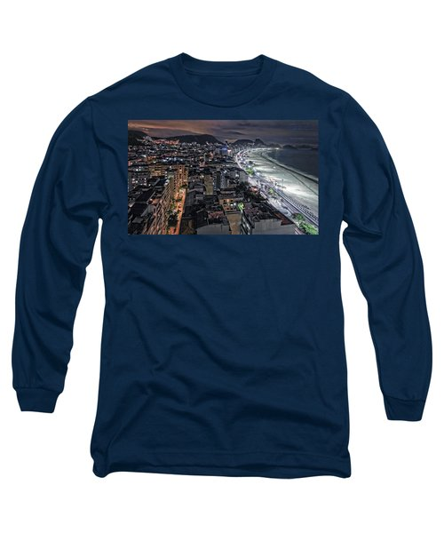 Copacabana Lights Long Sleeve T-Shirt