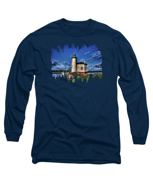 Long Sleeve T-Shirt featuring the photograph Coquille River Lighthouse by Thom Zehrfeld