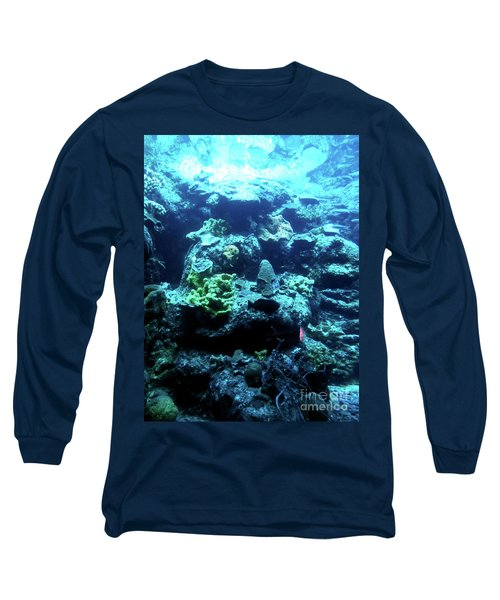 Long Sleeve T-Shirt featuring the photograph Coral Art 4 by Francesca Mackenney