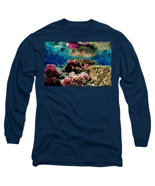 Coral Reef Long Sleeve T-Shirt by Carol Crisafi