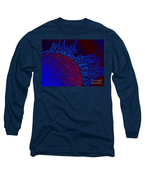 Long Sleeve T-Shirt featuring the photograph Coral Study by Trena Mara