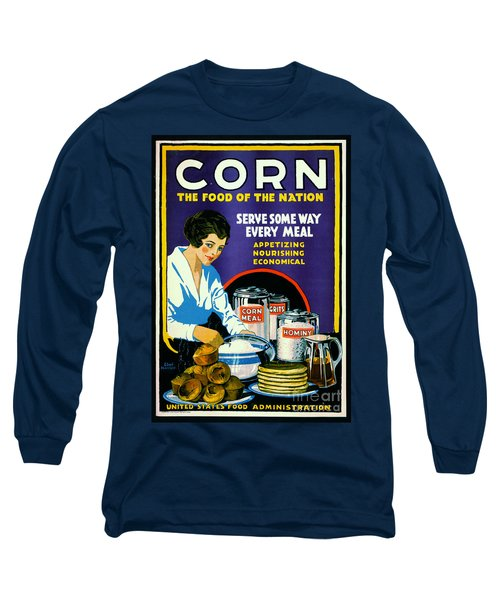 Corn 1918 Long Sleeve T-Shirt