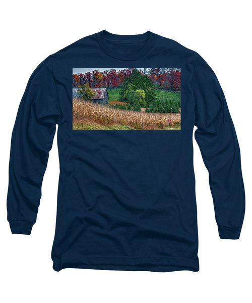 Corn And Ginseng On Poverty Hill Long Sleeve T-Shirt