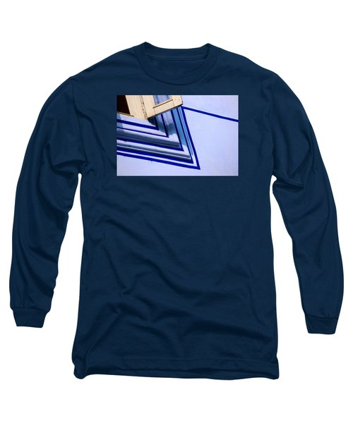 Long Sleeve T-Shirt featuring the photograph Cornering The Blues by Prakash Ghai