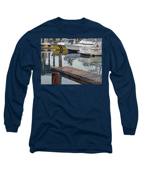 Corpus Christi Dock Long Sleeve T-Shirt