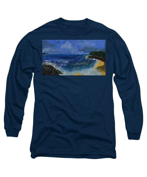 Costa Rica Beach Long Sleeve T-Shirt