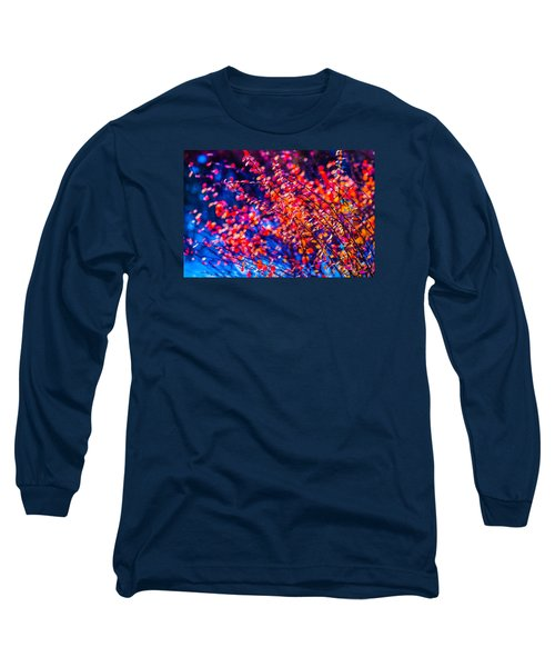 Long Sleeve T-Shirt featuring the photograph Cotoneaster In Winter by Alexander Senin