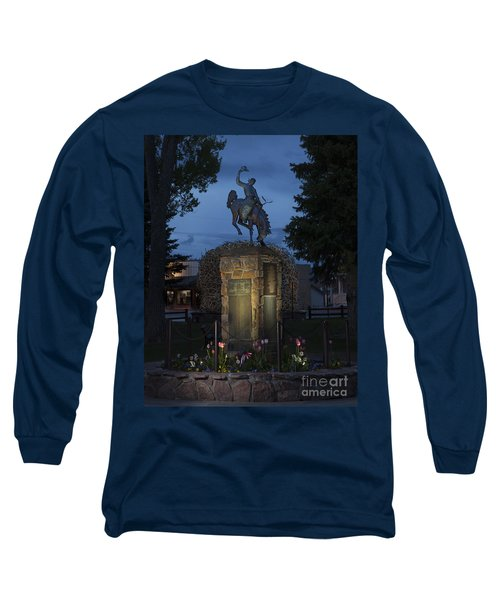 Coulter Memorial, Jackson, Wyoming Long Sleeve T-Shirt