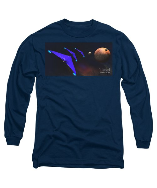 Crab Nebula Long Sleeve T-Shirt