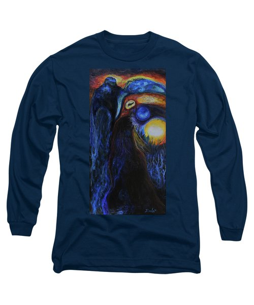 Creeping Plague Long Sleeve T-Shirt by Christophe Ennis