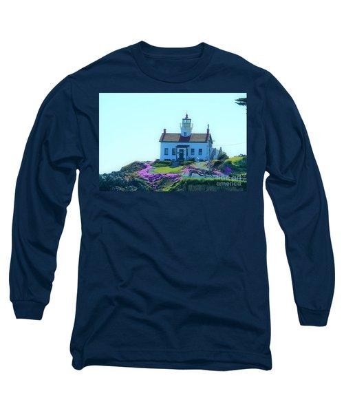 Crescent City Lighthouse Long Sleeve T-Shirt