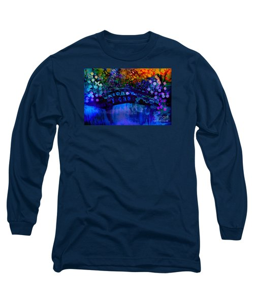 Cross Over The Bridge Long Sleeve T-Shirt by Sherri's Of Palm Springs