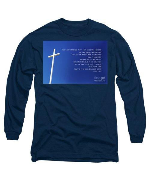 Cross With Blue Sky Long Sleeve T-Shirt
