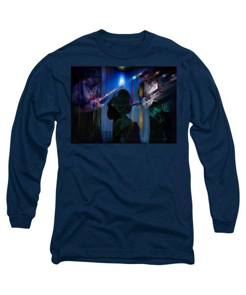 Crossfire Long Sleeve T-Shirt by Glenn Feron