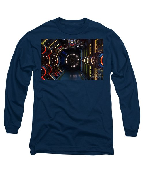 Cruise Ship Abstract Centrum Long Sleeve T-Shirt