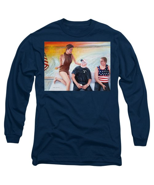 Cruising The 4th Of July Long Sleeve T-Shirt