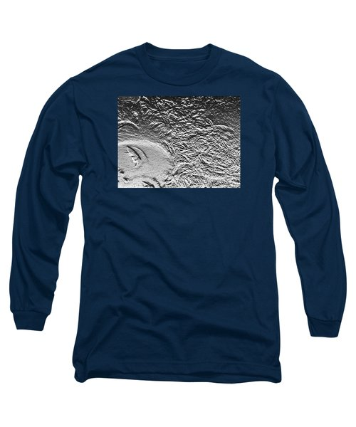 Long Sleeve T-Shirt featuring the digital art Crystalized by Lyric Lucas