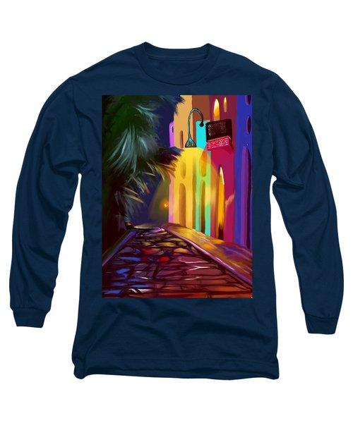 Cubano Street Long Sleeve T-Shirt
