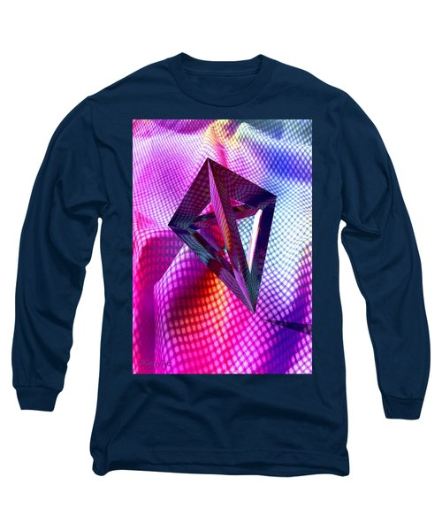 Curves And Angles Long Sleeve T-Shirt
