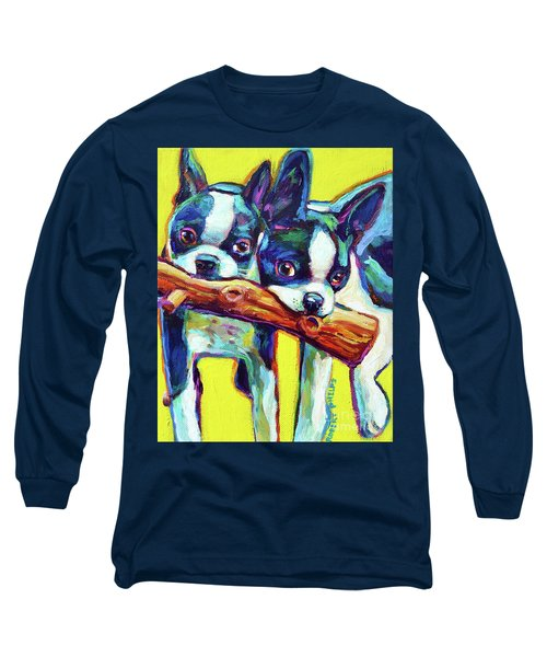 Cute Boston Terriers Long Sleeve T-Shirt