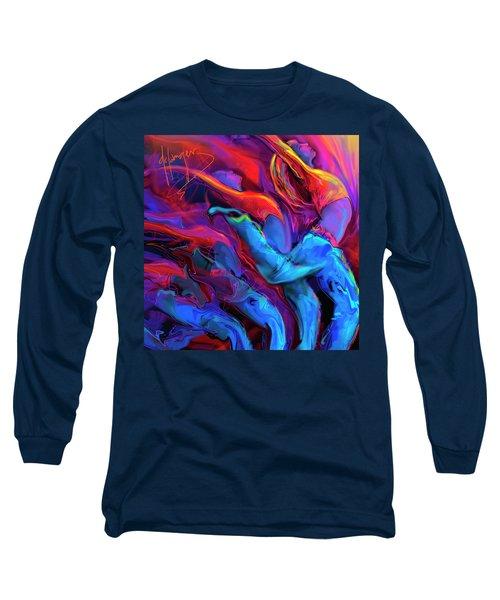Dance, Dance, Dance Long Sleeve T-Shirt by DC Langer
