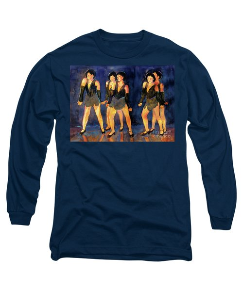 Dancers  Spring Glitz     Long Sleeve T-Shirt