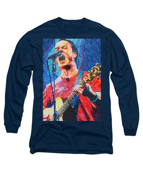 Dave Matthews Squared Long Sleeve T-Shirt by Joshua Morton