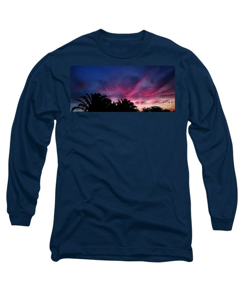 Sunrise - Alba Long Sleeve T-Shirt by Zedi